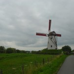 Biking the Flemish countryside
